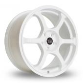 Rota Boost White Alloy Wheels