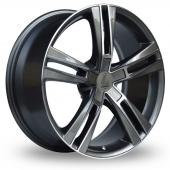 Lenso ES6 Polished Alloy Wheels