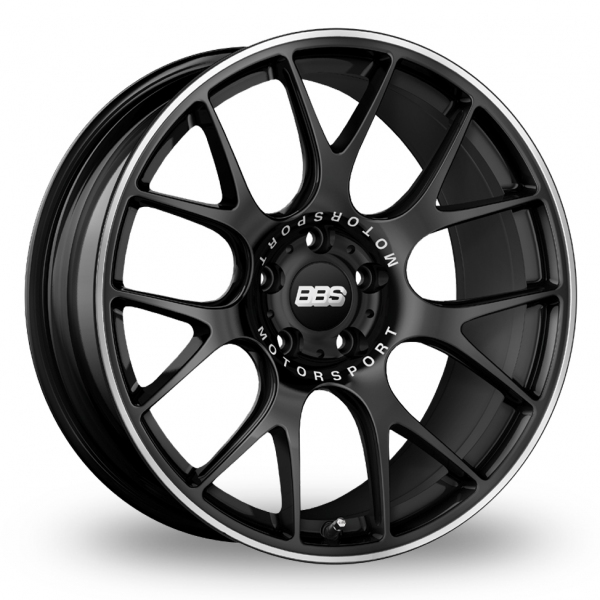 Picture of 19 Inch BBS CH-R Satin Black Alloy Wheels