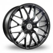 AC Wheels Saphire Matt Black Alloy Wheels