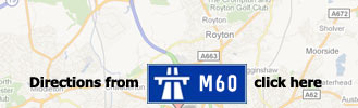 Directions to Wheelbase Alloy Wheels from the M60 motorway