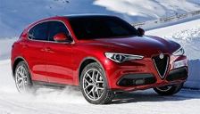 Alfa Romeo Stelvio 2016 to 2018 Alloy Wheels and Tyre Packages.