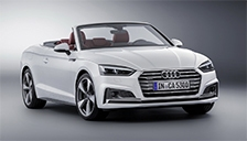 Audi A5 2017 to 2018 Cabriolet (F57) Alloy Wheels and Tyre Packages.