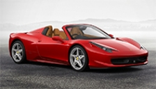 Ferrari 458 Spider Alloy Wheels and Tyre Packages.