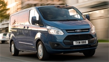Ford Transit Van Alloy Wheels and Tyre Packages.