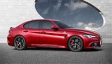 Alfa Romeo Giulia 2015 to 2018 (Type 952) Alloy Wheels and Tyre Packages.