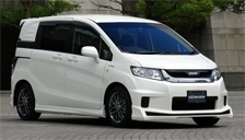 Honda Freed Spike Alloy Wheels and Tyre Packages.