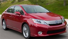 Lexus HS 250h Alloy Wheels and Tyre Packages.