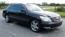 Lexus LS 430 Alloy Wheels and Tyre Packages.