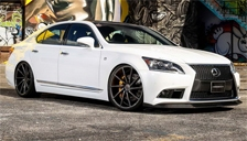 Lexus LS 460 Alloy Wheels and Tyre Packages.