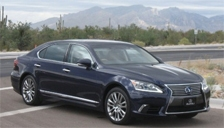 Lexus LS 600H Alloy Wheels and Tyre Packages.