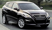 Lexus RX 300 Alloy Wheels and Tyre Packages.