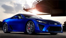 Lexus LFA Alloy Wheels and Tyre Packages.
