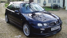 MG ZR Alloy Wheels and Tyre Packages.