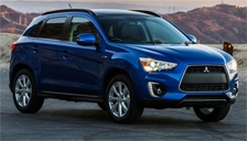 Mitsubishi ASX Alloy Wheels and Tyre Packages.