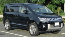 Mitsubishi Delicia D5 Alloy Wheels and Tyre Packages.