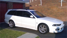 Mitsubishi Galant Estate Alloy Wheels and Tyre Packages.