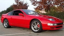 Nissan 300 ZX Alloy Wheels and Tyre Packages.
