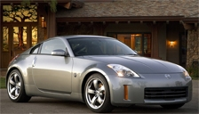 Nissan 350 Z Alloy Wheels and Tyre Packages.