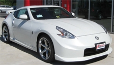 Nissan 370 Z Coupe Road Alloy Wheels and Tyre Packages.