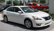 Nissan Altima Alloy Wheels and Tyre Packages.