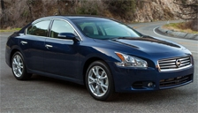 Nissan Maxima Alloy Wheels and Tyre Packages.