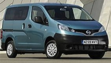Nissan NV200 Combi Alloy Wheels and Tyre Packages.