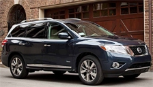 Nissan Pathfinder Alloy Wheels and Tyre Packages.