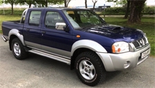 Nissan Pick Up Alloy Wheels and Tyre Packages.