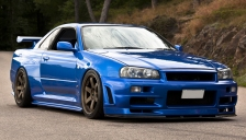 Nissan Skyline Alloy Wheels and Tyre Packages.