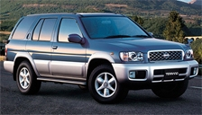 Nissan Terrano Alloy Wheels and Tyre Packages.