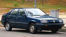 Proton Aeroback 1988 to 1996 Alloy Wheels and Tyre Packages.