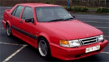 Saab 9000 Alloy Wheels and Tyre Packages.