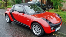 Smart Roadster 2003 to 2006 Alloy Wheels and Tyre Packages.
