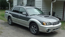 Subaru Baja Alloy Wheels and Tyre Packages.
