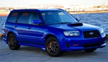 Subaru Forester STI Alloy Wheels and Tyre Packages.