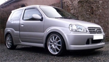 Suzuki Ignis Sport 2003 to 2008 Alloy Wheels and Tyre Packages.