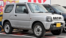 Suzuki Jimny 1998 to 2018 (3rd Generation) Alloy Wheels and Tyre Packages.