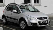 Suzuki SX4 2006 to 2018 Alloy Wheels and Tyre Packages.