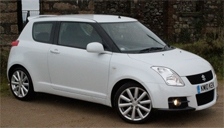 Suzuki Swift 2005 to 2009 (Mk2) Alloy Wheels and Tyre Packages.