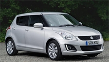Suzuki Swift 2010 to 2018 (Mk3) Alloy Wheels and Tyre Packages.