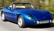 TVR Griffith Alloy Wheels and Tyre Packages.