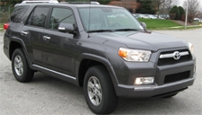 Toyota 4 Runner Alloy Wheels and Tyre Packages.