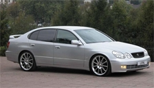 Toyota Aristo Alloy Wheels and Tyre Packages.