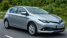 Toyota Auris Alloy Wheels and Tyre Packages.