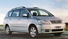 Toyota Avensis Verso Alloy Wheels and Tyre Packages.