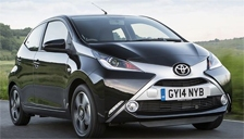 Toyota Aygo Alloy Wheels and Tyre Packages.