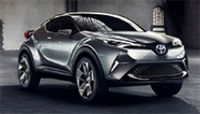 Toyota CHR Alloy Wheels and Tyre Packages.