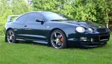 Toyota Celica 1994 To 1999 T200 Alloy Wheels And Tyre Packages