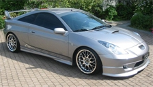 Toyota Celica Alloy Wheels and Tyre Packages.